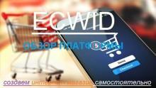 Обзор платформы Ecwid